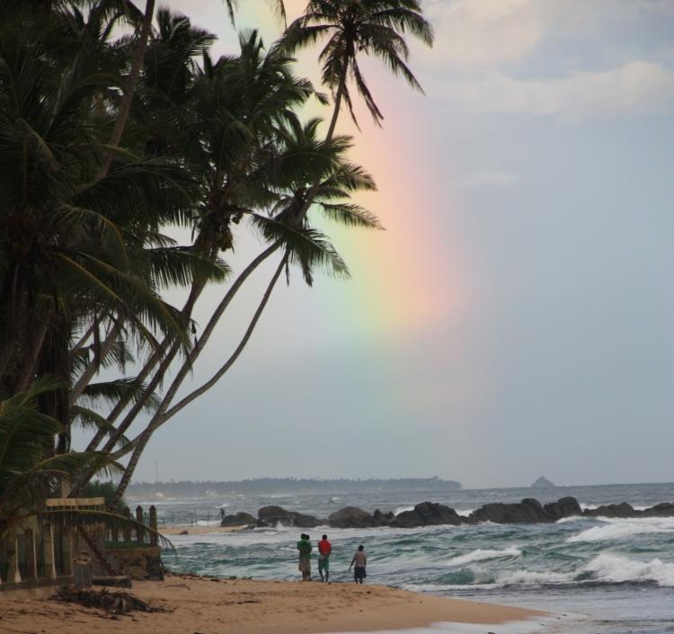 Rainbow in Sri Lanka