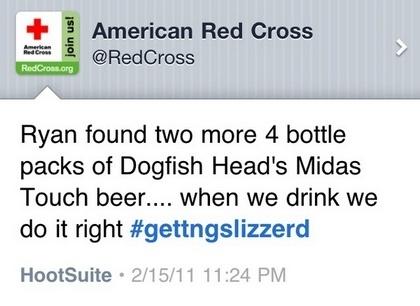 The original Red Cross post